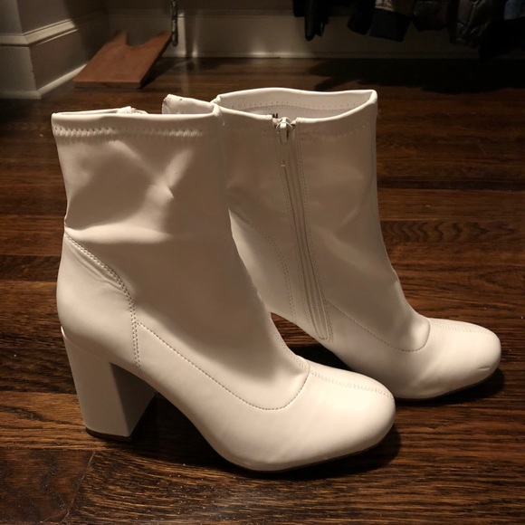 MIA Shoes   Mia White Boots   Poshmark